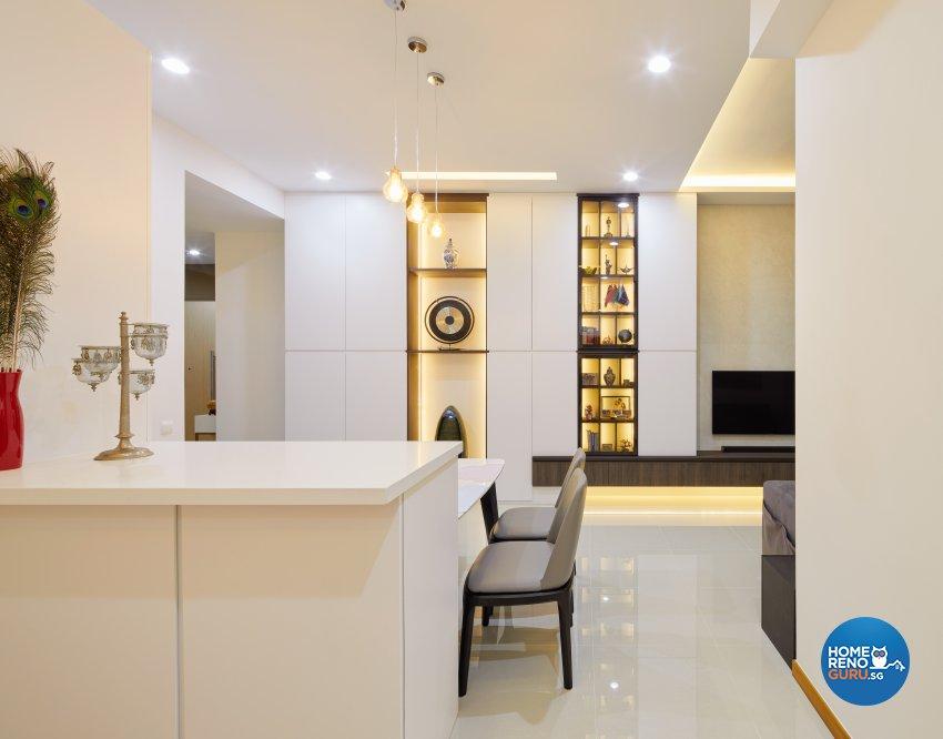 Contemporary Design - Living Room - Condominium - Design by Absolook Interior Design Pte Ltd