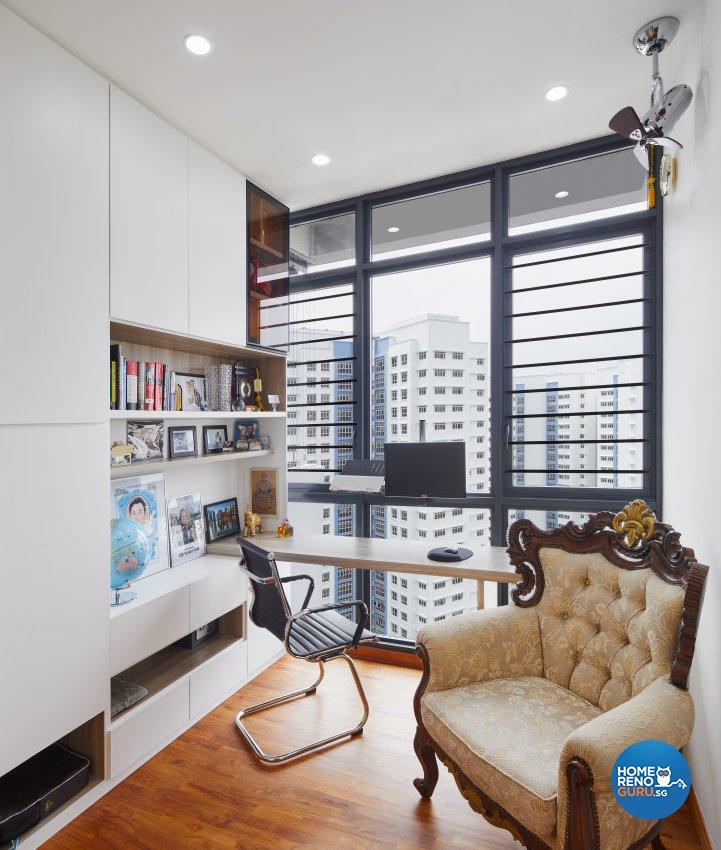 Contemporary Design - Study Room - Condominium - Design by Absolook Interior Design Pte Ltd
