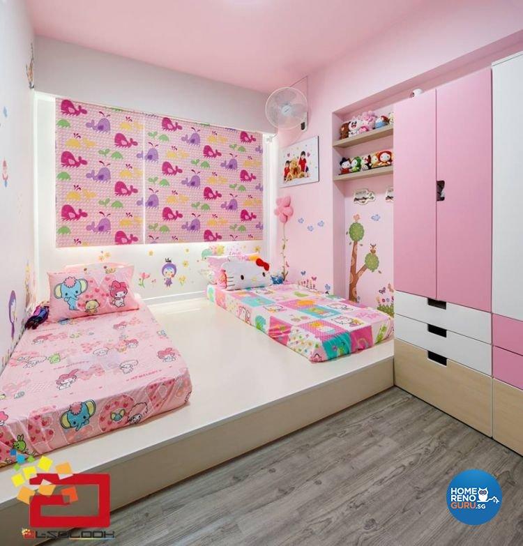 Interior Design Kids Bedroom Ideas: Singapore Interior Design Gallery Design Details