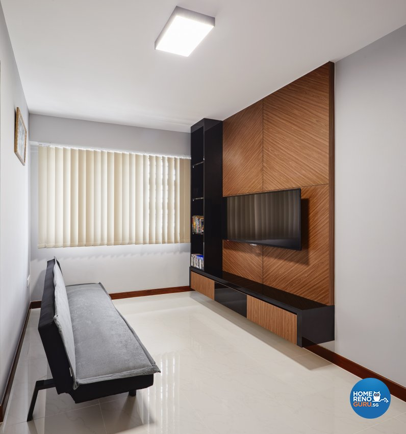 Contemporary, Scandinavian Design - Study Room - HDB 4 Room - Design by Absolook Interior Design Pte Ltd
