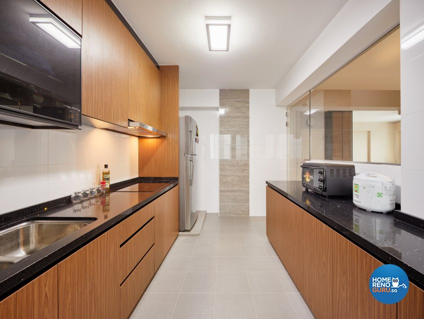 Contemporary, Scandinavian Design - Kitchen - HDB 4 Room - Design by Absolook Interior Design Pte Ltd