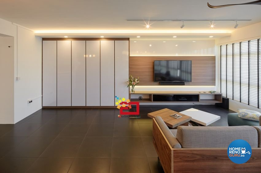 Absolook Interior Design Pte Ltd HDB 5 Room Package