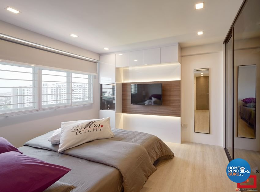 Modern Design - Bedroom - HDB 5 Room - Design by Absolook Interior Design Pte Ltd
