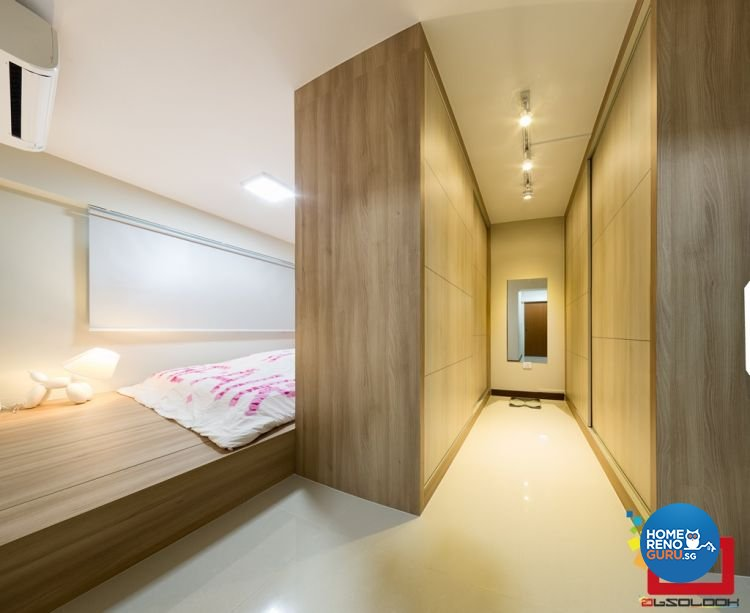 Contemporary, Minimalist Design - Bedroom - HDB 4 Room - Design by Absolook Interior Design Pte Ltd