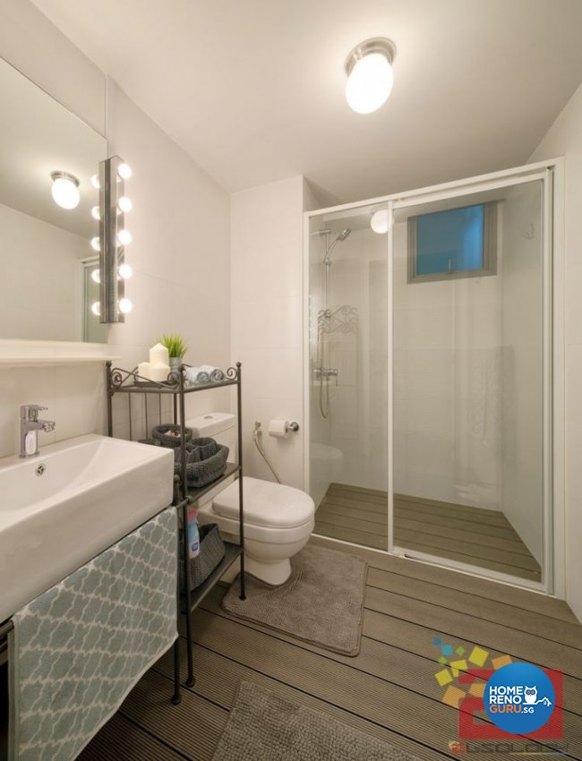Contemporary, Minimalist, Scandinavian, Victorian Design - Bathroom - HDB 4 Room - Design by Absolook Interior Design Pte Ltd