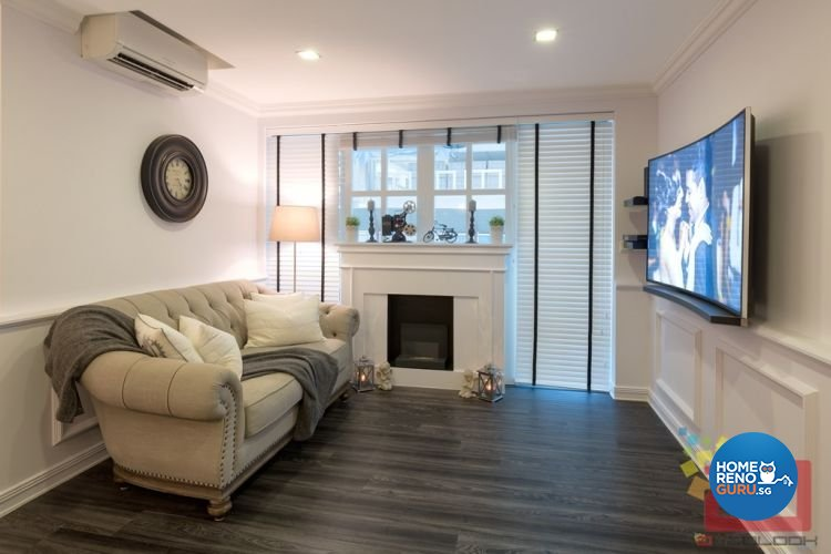 Contemporary, Minimalist, Scandinavian, Victorian Design - Living Room - HDB 4 Room - Design by Absolook Interior Design Pte Ltd