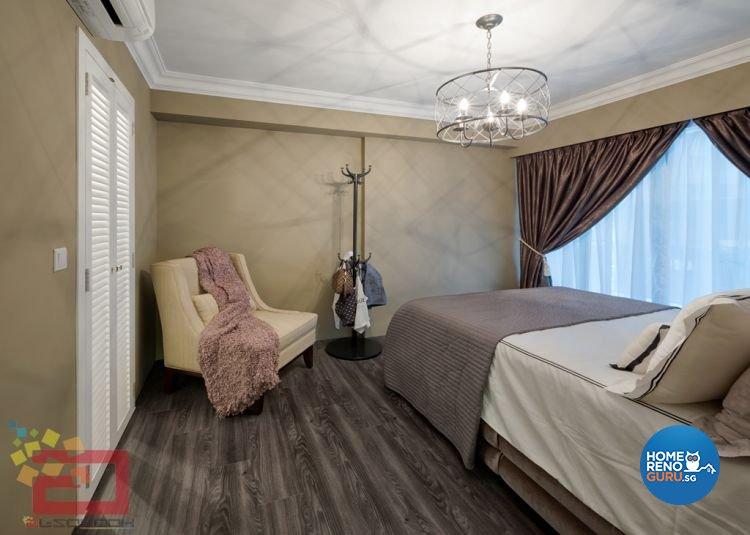 Contemporary, Minimalist, Scandinavian, Victorian Design - Bedroom - HDB 4 Room - Design by Absolook Interior Design Pte Ltd