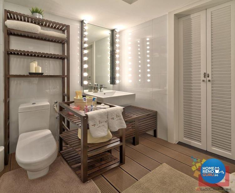 Contemporary, Minimalist, Scandinavian, Victorian Design - Bathroom - HDB 4 Room - Design by Absolook Interior Design Pte Ltd