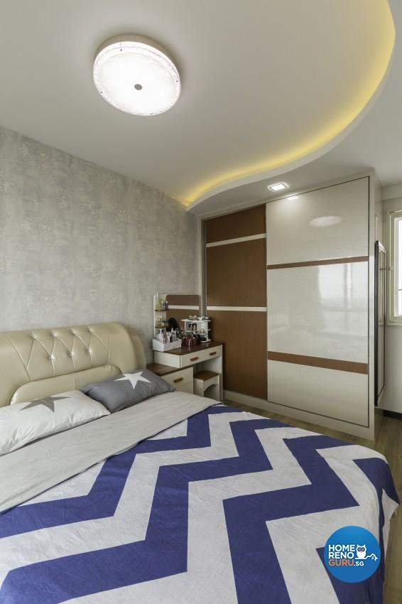 Classical, Modern Design - Bedroom - HDB 5 Room - Design by Absolook Interior Design Pte Ltd