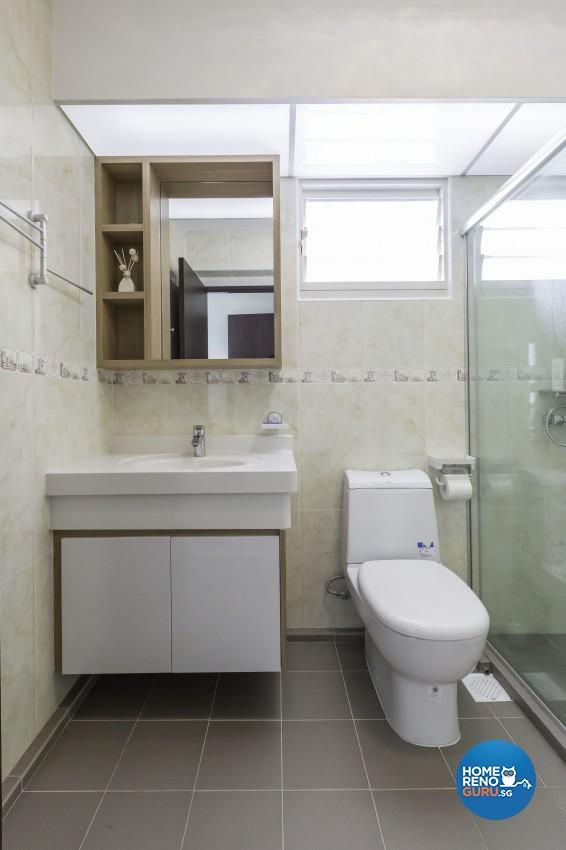 Classical, Modern Design - Bathroom - HDB 5 Room - Design by Absolook Interior Design Pte Ltd