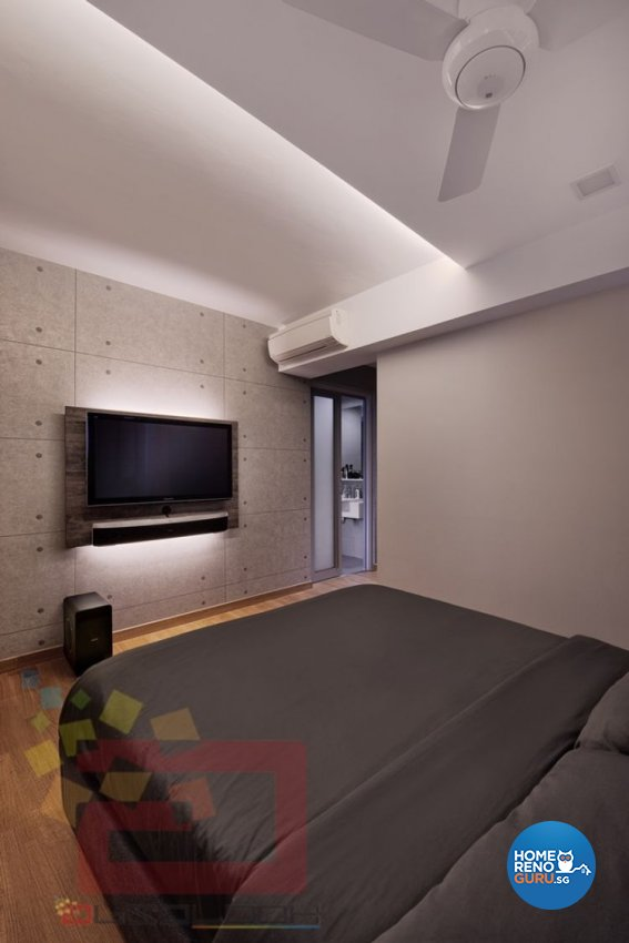 Minimalist Design - Bedroom - HDB 4 Room - Design by Absolook Interior Design Pte Ltd