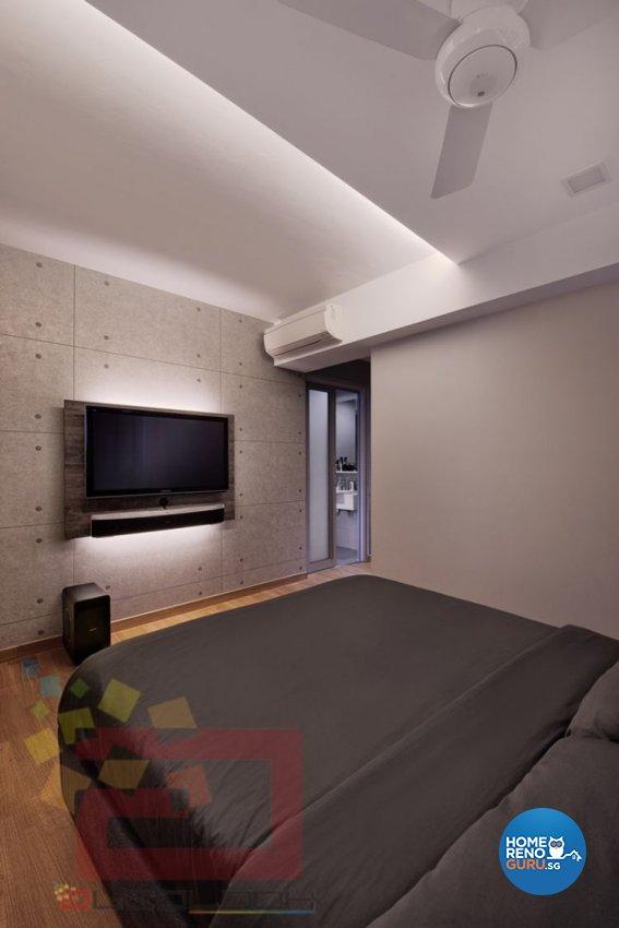 Minimalist Design - Bedroom - HDB 4 Room - Design by Absolook Interior Design Pte Ltd