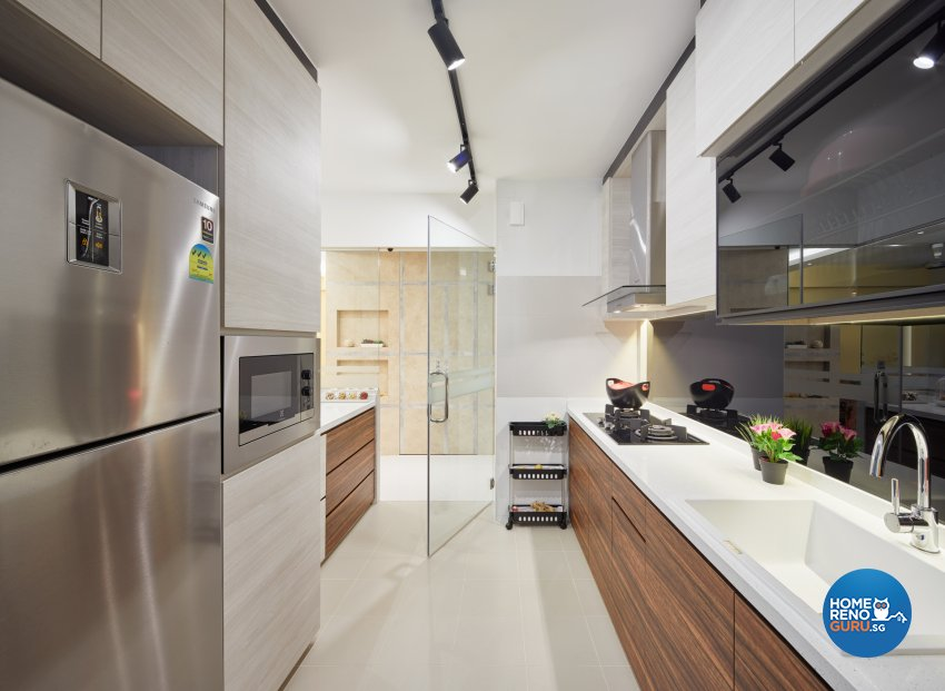 Contemporary, Modern Design - Kitchen - Condominium - Design by Absolook Interior Design Pte Ltd
