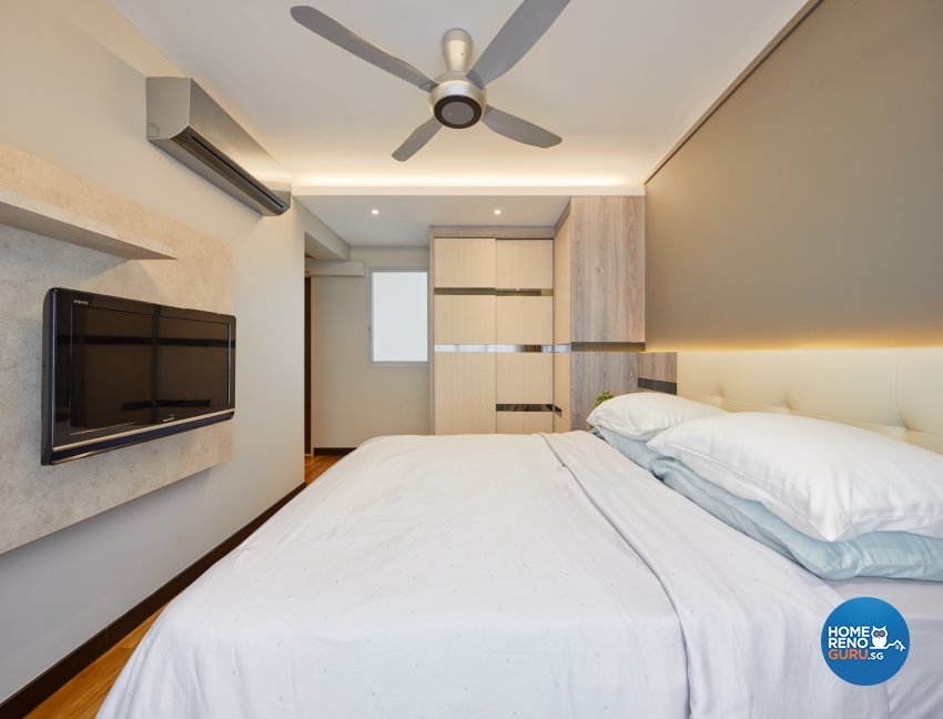 Contemporary, Modern Design - Bedroom - Condominium - Design by Absolook Interior Design Pte Ltd