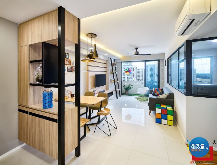 Absolook Interior Design Pte Ltd-HDB 3-Room package