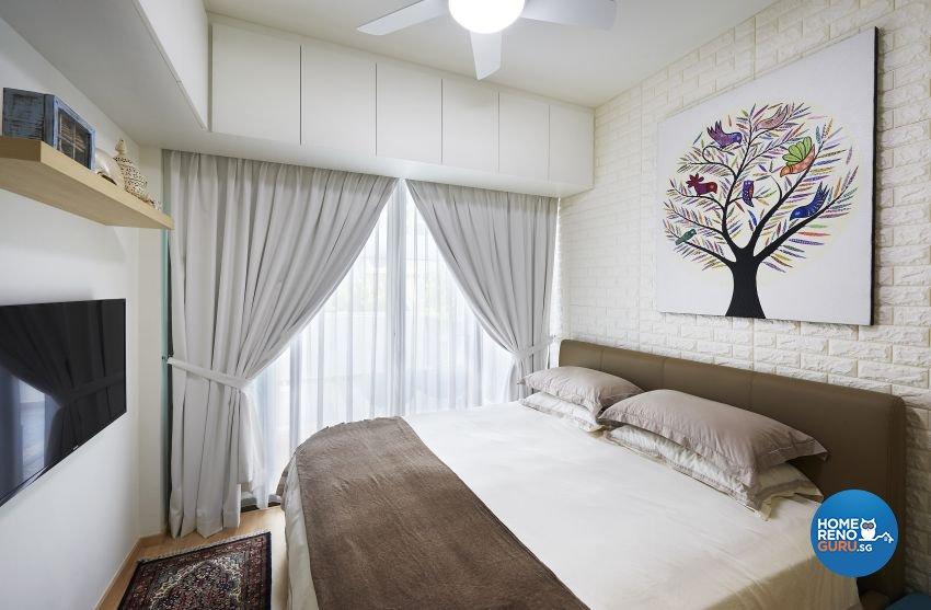 Contemporary Design - Bedroom - Condominium - Design by AC Vision Design Pte Ltd