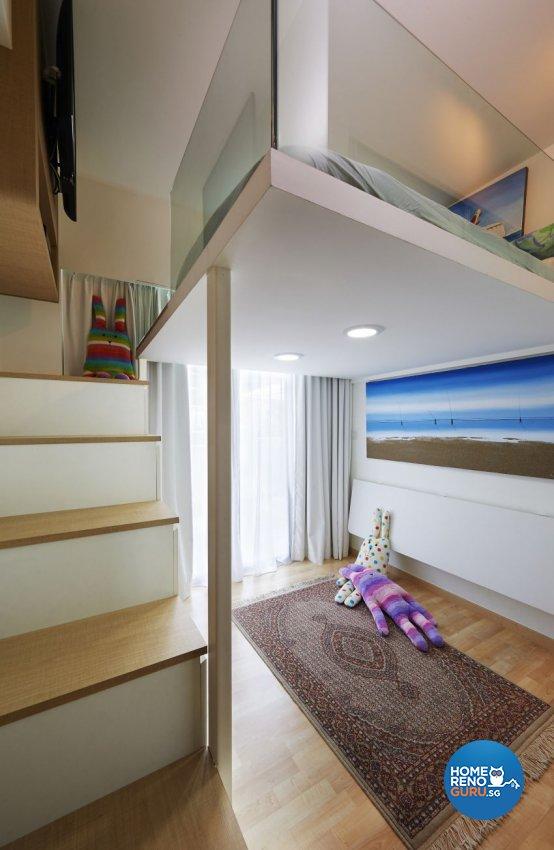 Contemporary Design - Study Room - Condominium - Design by AC Vision Design Pte Ltd