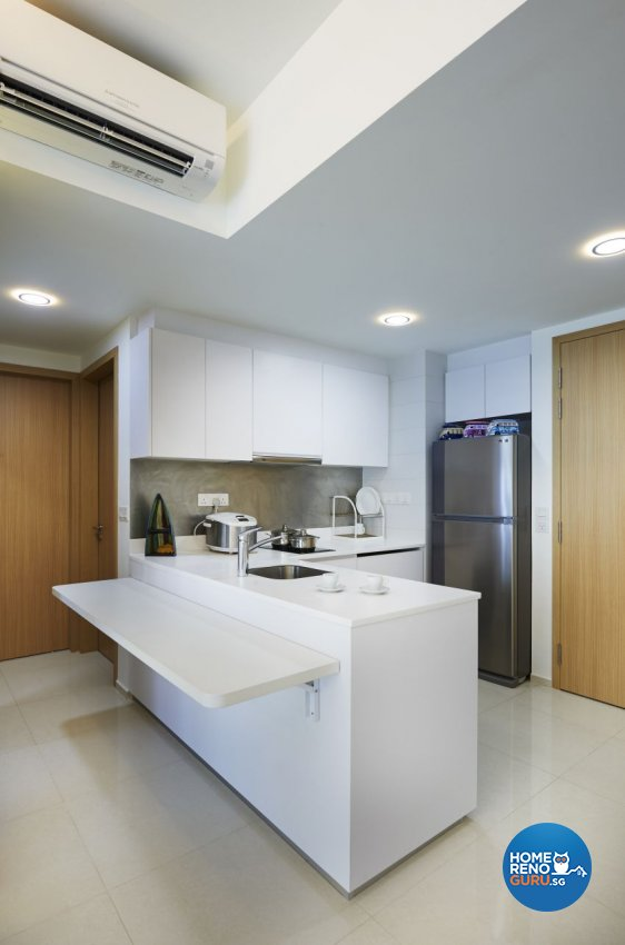 Contemporary Design - Kitchen - Condominium - Design by AC Vision Design Pte Ltd