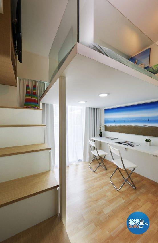 Minimalist, Resort Design - Bedroom - Condominium - Design by AC Vision Design Pte Ltd
