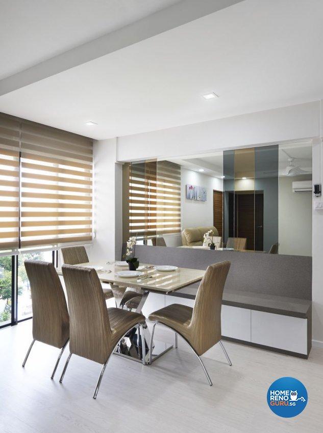 Modern Design - Dining Room - HDB 5 Room - Design by AC Vision Design Pte Ltd