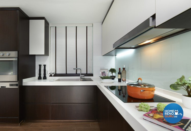 Contemporary, Modern Design - Kitchen - Condominium - Design by AC Vision Design Pte Ltd