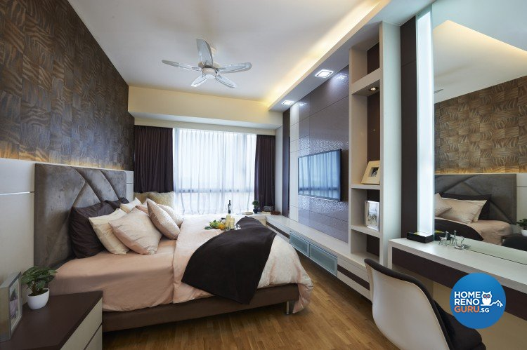 Contemporary, Modern Design - Bedroom - Condominium - Design by AC Vision Design Pte Ltd