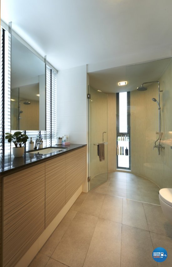 Contemporary, Modern Design - Bathroom - Condominium - Design by AC Vision Design Pte Ltd