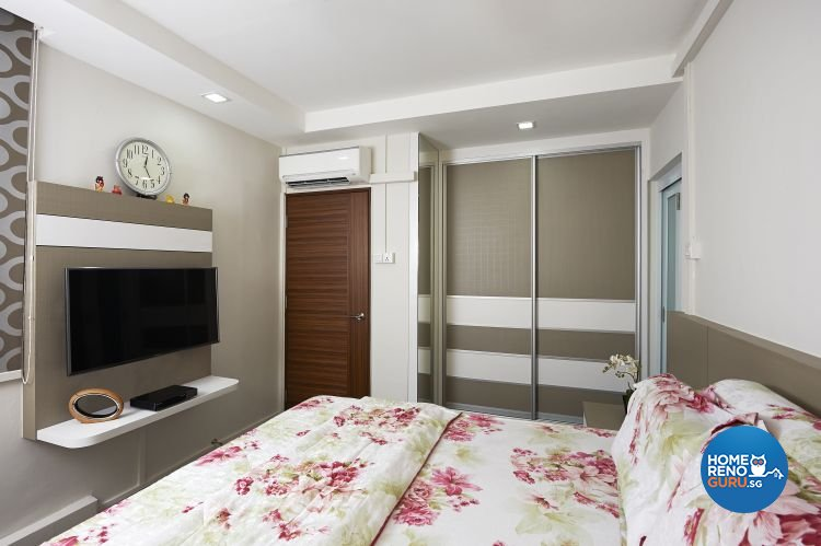 Contemporary, Modern Design - Bedroom - HDB 5 Room - Design by AC Vision Design Pte Ltd