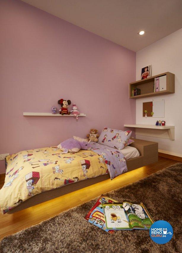 Contemporary, Modern Design - Bedroom - Landed House - Design by AC Vision Design Pte Ltd
