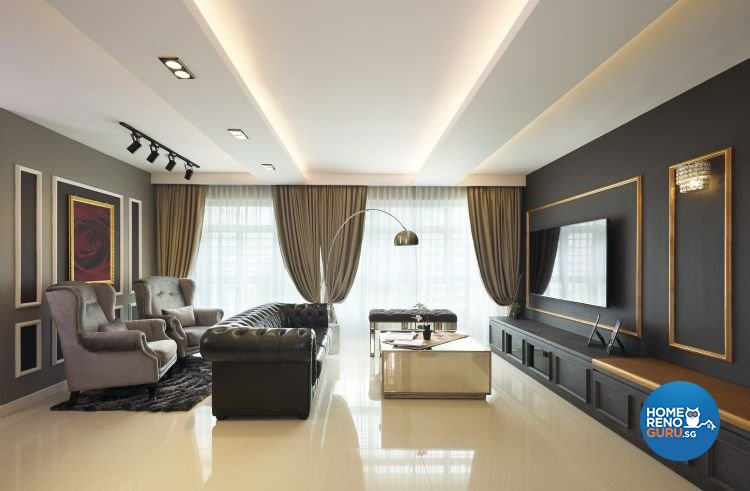 Contemporary, Modern Design - Living Room - Others - Design by AC Vision Design Pte Ltd