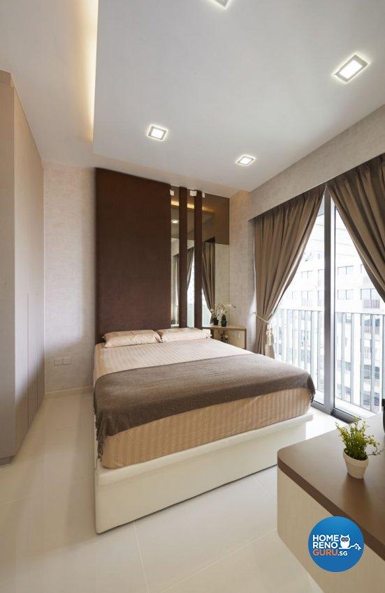 Contemporary, Modern Design - Bedroom - Condominium - Design by AC Vision Design Pte Ltd
