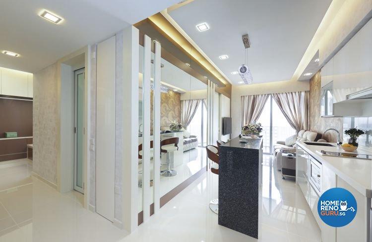Contemporary, Modern Design - Kitchen - Condominium - Design by AC Vision Design Pte Ltd