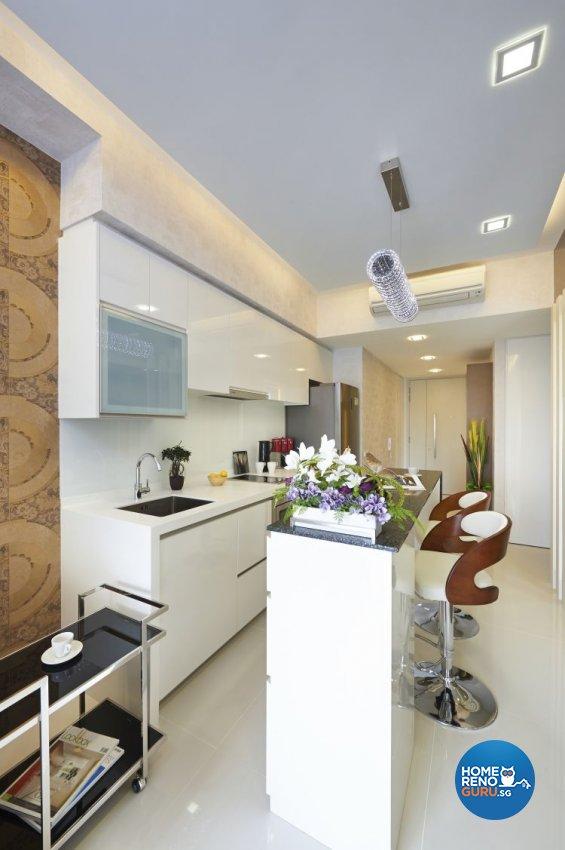 Contemporary, Modern Design - Dining Room - Condominium - Design by AC Vision Design Pte Ltd