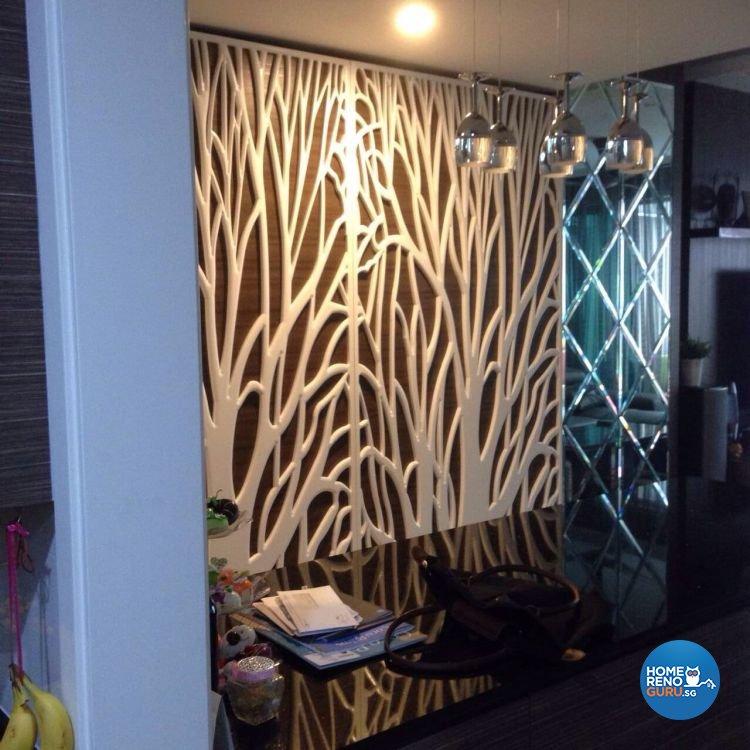 Classical, Contemporary, Modern Design - Living Room - Condominium - Design by AC Vision Design Pte Ltd