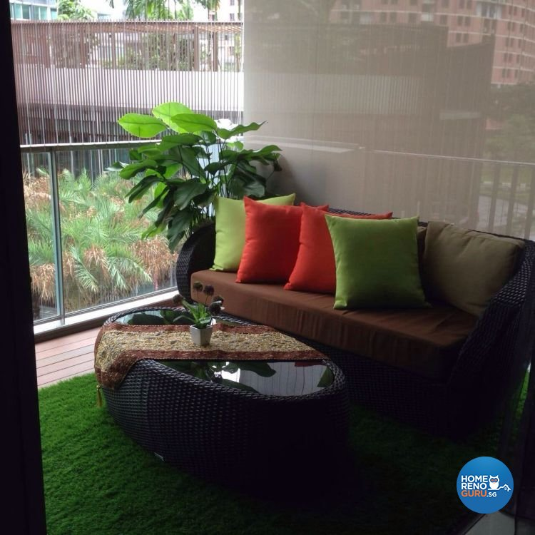 Classical, Contemporary, Modern Design - Balcony - Condominium - Design by AC Vision Design Pte Ltd
