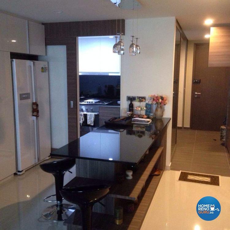 Classical, Contemporary, Modern Design - Kitchen - Condominium - Design by AC Vision Design Pte Ltd