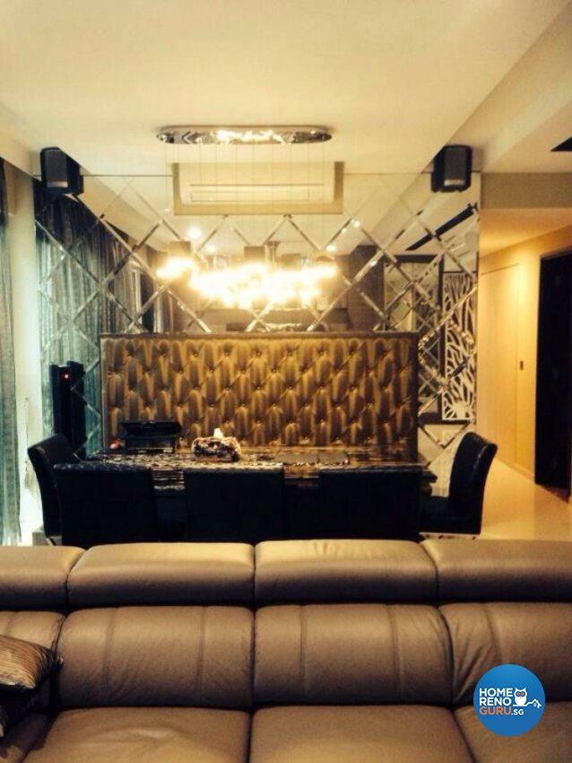 Classical, Contemporary, Modern Design - Dining Room - Condominium - Design by AC Vision Design Pte Ltd