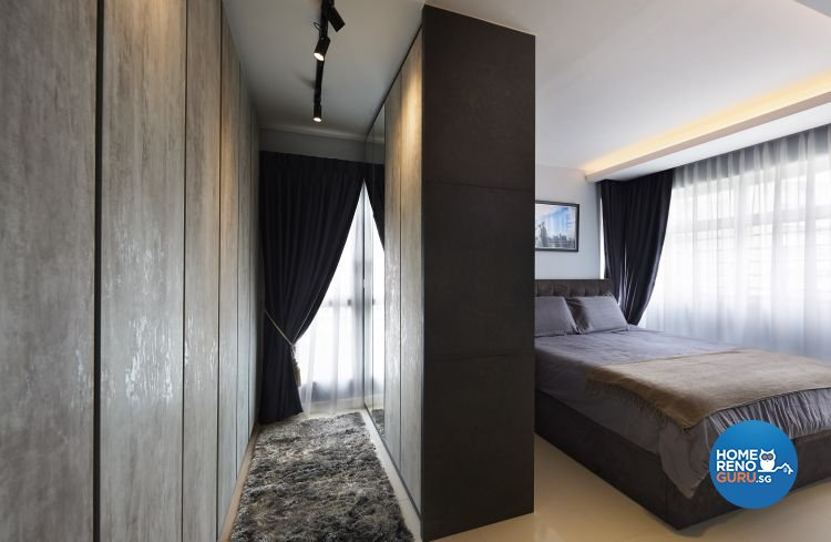 Modern, Scandinavian, Victorian Design - Bedroom - HDB 5 Room - Design by AC Vision Design Pte Ltd