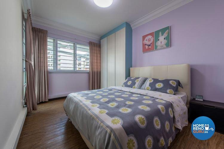 Minimalist, Modern Design - Bedroom - HDB 4 Room - Design by Ace Space Design Pte Ltd