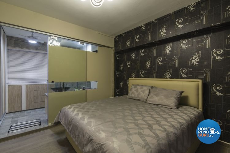 Contemporary, Modern Design - Bedroom - HDB 4 Room - Design by Ace Space Design Pte Ltd