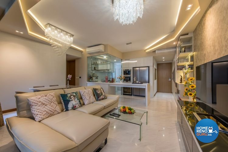 Classical, Contemporary, Modern Design - Living Room - Condominium - Design by Ace Space Design Pte Ltd
