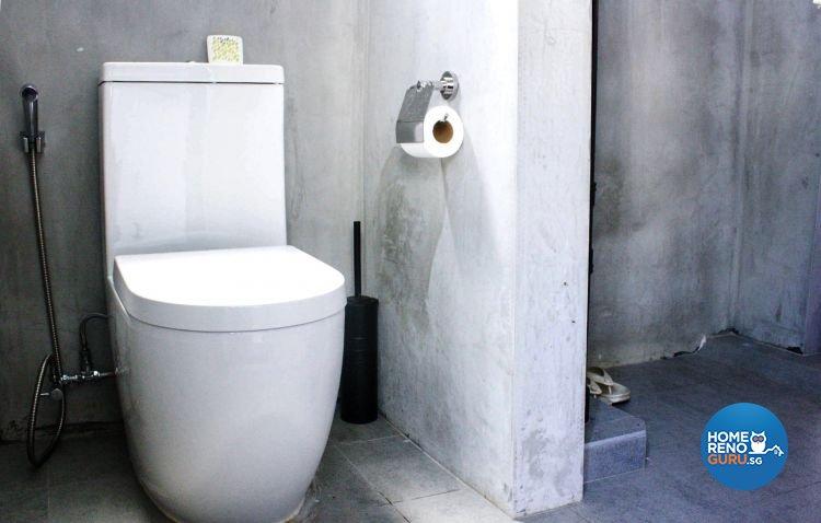 Contemporary, Industrial Design - Bathroom - HDB 3 Room - Design by Ace Space Design Pte Ltd