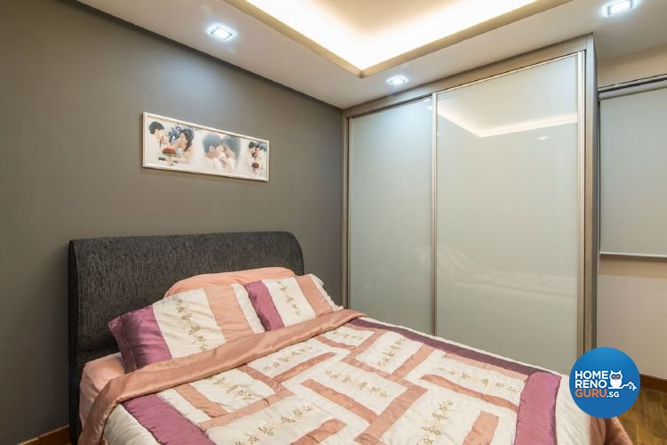 Classical, Contemporary Design - Bedroom - HDB 5 Room - Design by Ace Space Design Pte Ltd