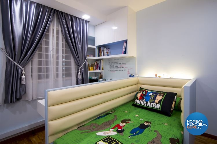Contemporary, Country, Modern Design - Bedroom - HDB 5 Room - Design by Affluent Theme Pte Ltd