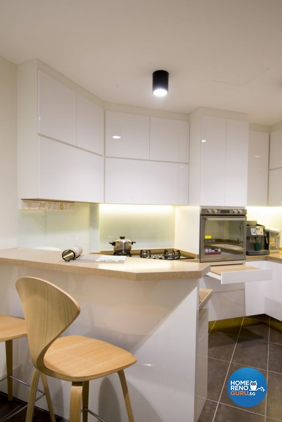 Contemporary, Country, Modern Design - Kitchen - HDB 5 Room - Design by Affluent Theme Pte Ltd