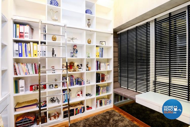 Classical, Contemporary, Modern Design - Study Room - Landed House - Design by Affluent Theme Pte Ltd