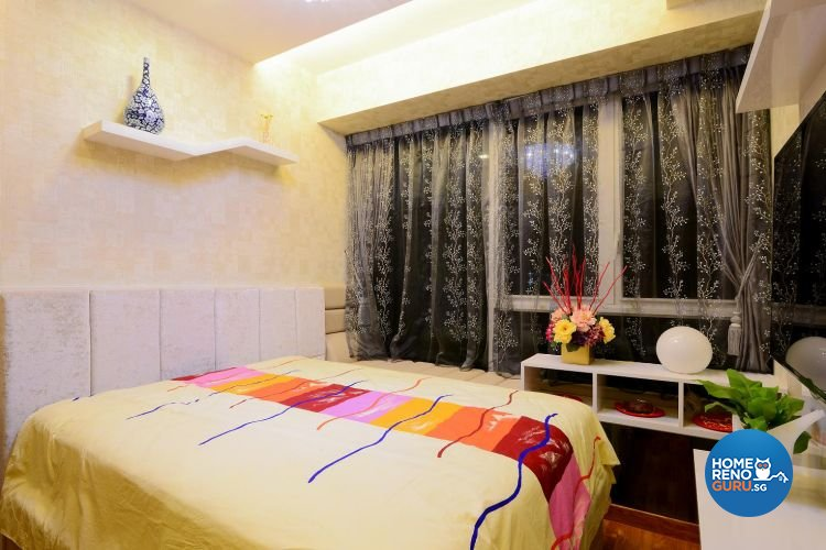 Classical, Contemporary, Modern Design - Bedroom - Landed House - Design by Affluent Theme Pte Ltd
