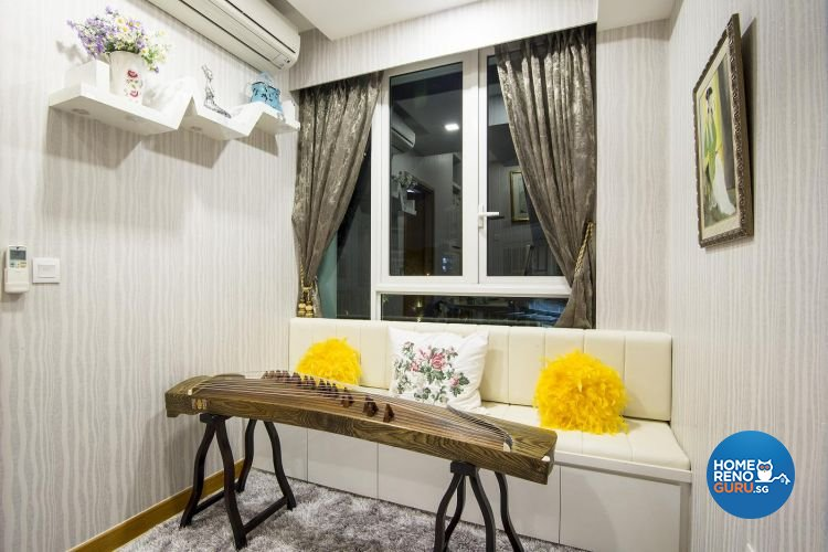 Classical, Contemporary, Modern Design - Entertainment Room - Landed House - Design by Affluent Theme Pte Ltd