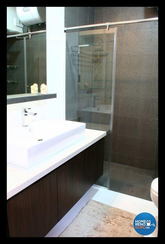 Classical, Modern Design - Bathroom - Condominium - Design by AGnS Design & Trade Pte Ltd