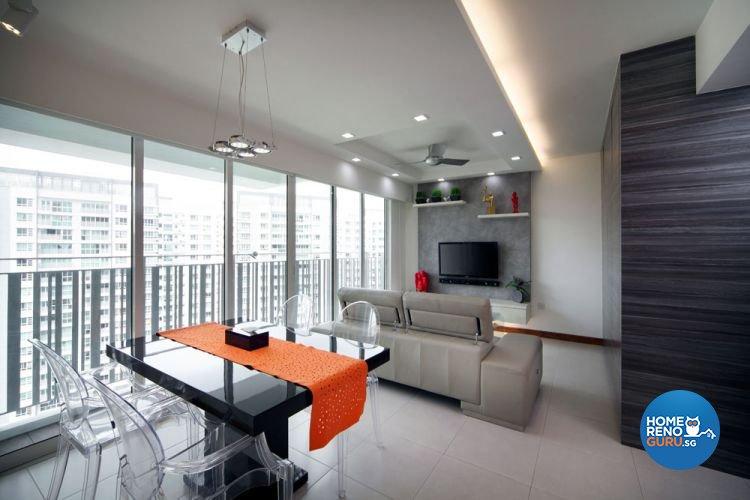 Contemporary, Minimalist Design - Dining Room - Condominium - Design by AGnS Design & Trade Pte Ltd